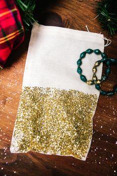 DIY Glitter Bags