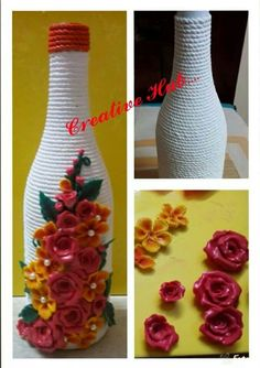 Crafty wid waste on pinterest pen holders lace wedding for Best out of waste diy ideas