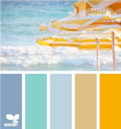interesting beach palette
