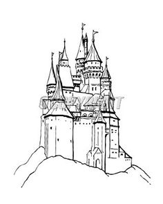 Castle On Pinterest Reading Levels Medieval And Colored Pencil Drawings