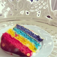 Rainbow Cake  #MeanGirls #Cake #Rainbow