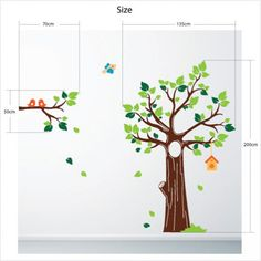 Jungle Tree Wall Sticker
