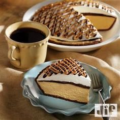 Decadent Peanut Butter Pie from Jif® peanuts, sweet, food, pies, decad peanut, butter pie, recip, peanut butter, dessert