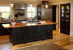 Early American Kitchens - Pictures and Design Ideas