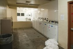 MERIT Program Inmate laundry room