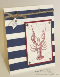 Nautical CASE :: Confessions of a Stamping Addict Lorri Heiling By the Tide CASE