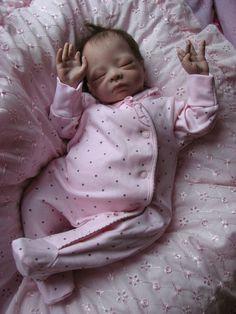 Stunning Newborn Reborn Baby Girl-Soft Silicone Vinyl, Ultra micro Rtd,Genesis | eBay