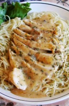 Angel Chicken Pasta | This was a good recipe, and different than the norm.