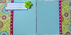 cute sisters 6x6 scrapbook pages3