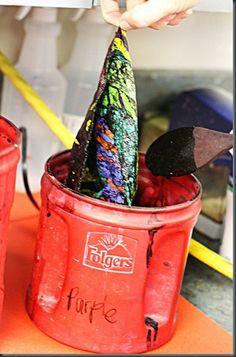 crayon waxsmart, arti pin, waxsmart class, craft idea, batik dye, crayola crayon, craft project, crayons, crayon batik