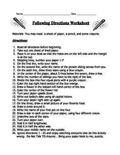 essay following direction essay following