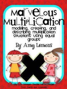 Looking for fun, engaging, and hands-on multiplication activities? This unit has only that!  There are no worksheets or drills, but only activities...