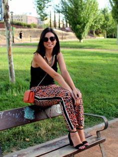 la_poire_rouge Outfit  estampado casual naranja animal  Verano 2013. Cómo vestirse y combinar según la_poire_rouge el 10-8-2013