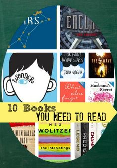 10 Books You Need to Read in 2014 have read a few....others are already on my summer wish list