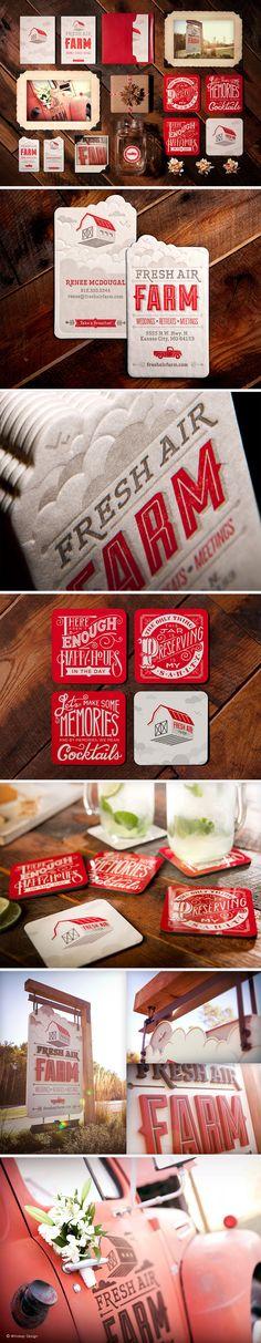 Fresh Air Farm Branding | Designer: Whiskey Design.