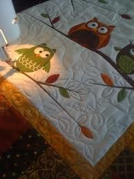 an Owl Quilt.  Of course!