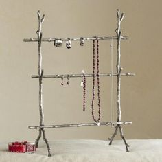 branches jewelry stand. with lift out twigs.