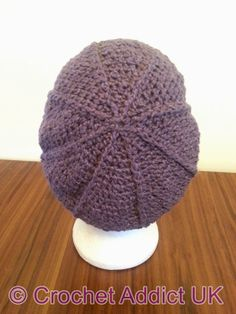 Free Crochet Newsboy Hat Pattern with Optional Brim- Mary