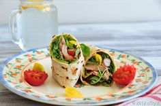 uTry.it: Spicy Chicken Wrap—Lunch for One (with Pictorial)