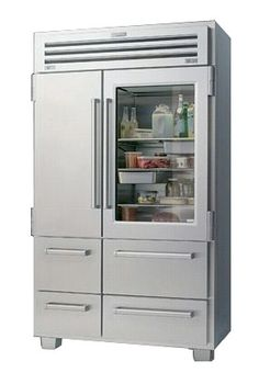 Sub-Zero PRO 48-inch Glass Front Refrigerator