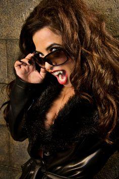 Ms. Vampy, Brooke Lewis, #TheIndieChicks, Scream Queen, Horror, Vampire