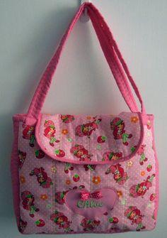 Personalized Strawberry Shortcake Diaper Bag by 2cutecostumes, $50.00
