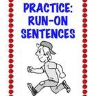 FREE printable written for 3rd through 5th grade. Explains what run-on sentences are, why students write them, and then offers practice at correcting them.