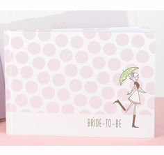 Bridal Shower Guest Book - love the whimsical illustration