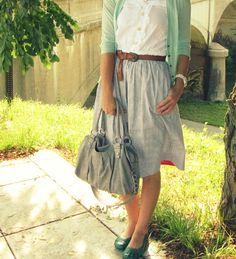 Such a cute outfit. Love love love