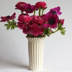 Phoebe Narrow Beaded Vase from francespalmerpottery.com