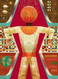 Illustrations by Goncalo Viana   Inspiration Grid   Design Inspiration