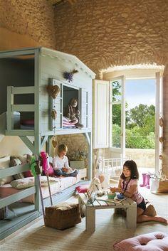 little girls, kid beds, bunk beds, tree houses, boy rooms