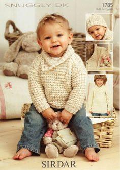 Sirdar--Sweater, Hat & Blanket (birth to 7 years)
