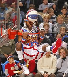 If you like entertaining the crowd, then Ant's #12 jersey is for you! Get his Harlem Globetrotters jersey here.