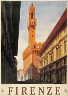 Arte al muro. Manifesti pubblicitari dal passato. Firenze vintage