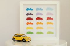 make a simple mini work of art for a child's room