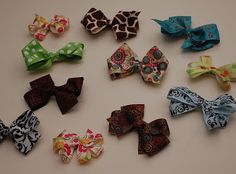 : how to make a hair bow.