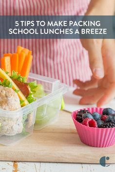 School lunch ideas f