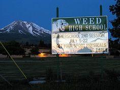 Weed, California