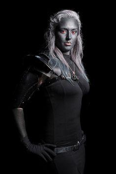 Dark Elf - Comicpalooza 2013 #Drow #D&D #Cosplay