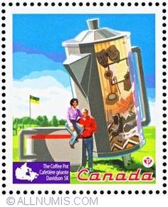 Stamp of P 2010 - Coffee Pot - Davidson from Canada