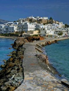 Naxos, Greece. Want to vacation in the Mediterranean so bad. Beautiful!