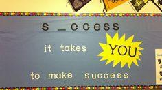 Success bulletin board