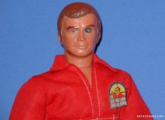 Kenner's The Six Million Dollar Man with the bionic eye.