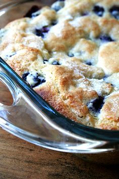 Buttermilk-Blueberry Breakfast Cake -
