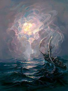 Spellbinding Fantasy Paintings by John Pitre via My Modern Met