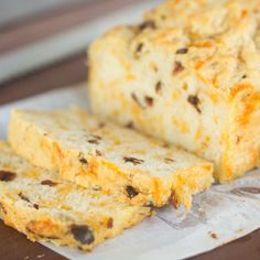 Bacon and Cheddar Beer Bread | Brown Eyed Baker
