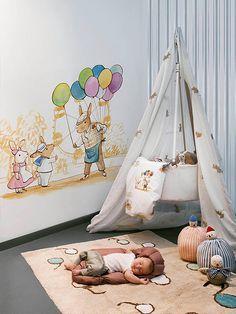 love murals in kids rooms