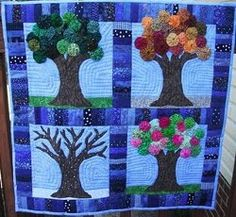 So excited to have found my first ever four season #quilt. Mention me in your pin if you find anymore I might like!
