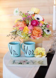 Modern Spring wedding ideas